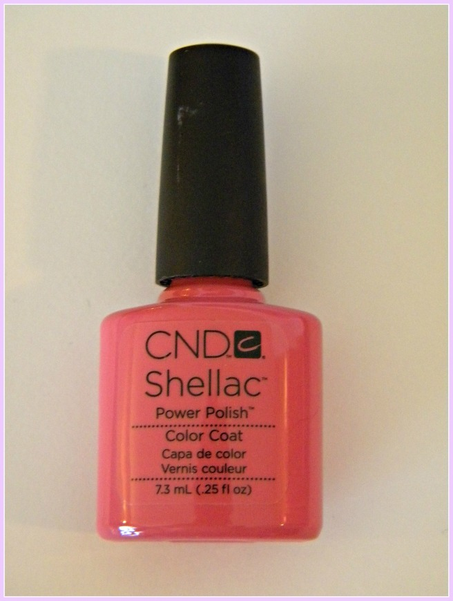 shellac polish Rose Bud