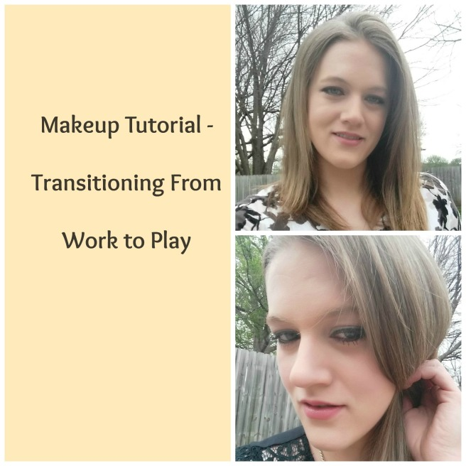 Makeup Tutorial - Trasitioning from work to play www.jilliandanielle.wordpress.com