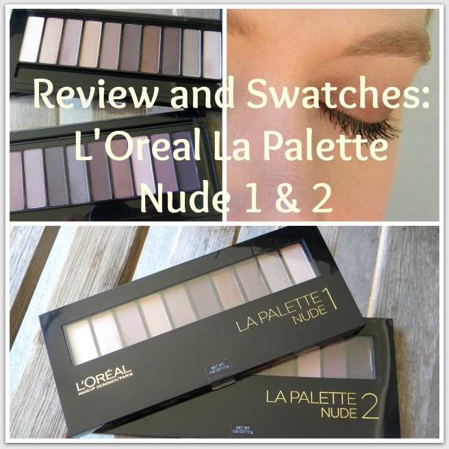 La Palette Nude Review & Swatches